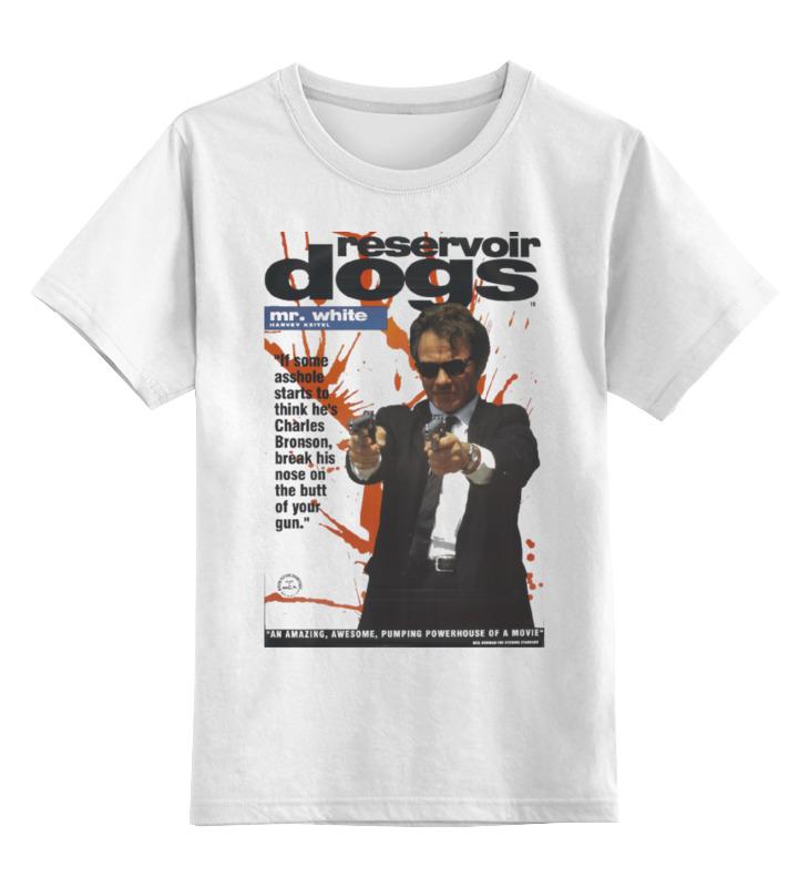 Детская футболка классическая унисекс Printio Reservoir dogs педаль для бас гитары ampeg scr di bundle