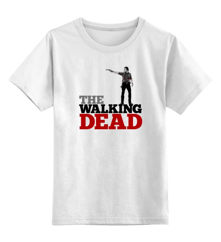 Детская футболка классическая унисекс Printio The walking dead детская футболка классическая унисекс printio the walking dead