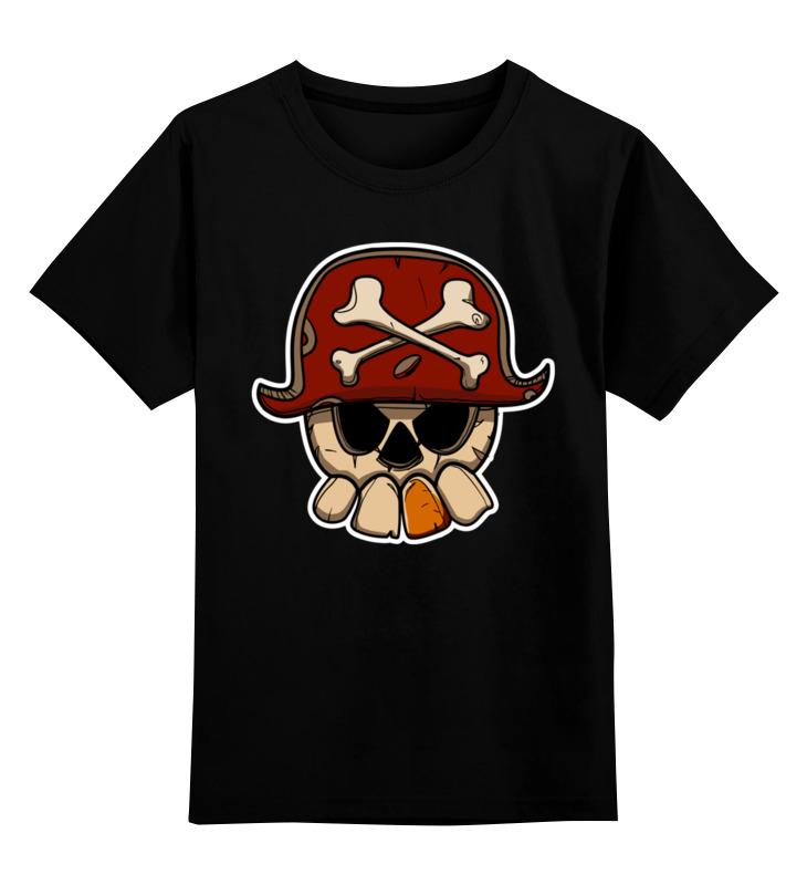 Printio Череп пирата детская футболка классическая унисекс printio дождливый вечер