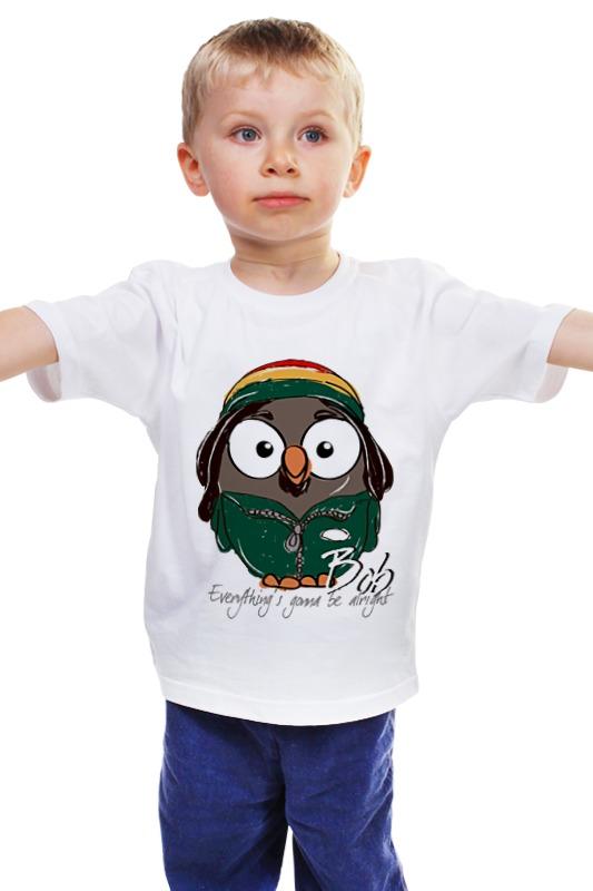 Детская футболка классическая унисекс Printio Сова боб марли суперсова goofi футболка классическая printio сова мэрилин монро суперсова goofi