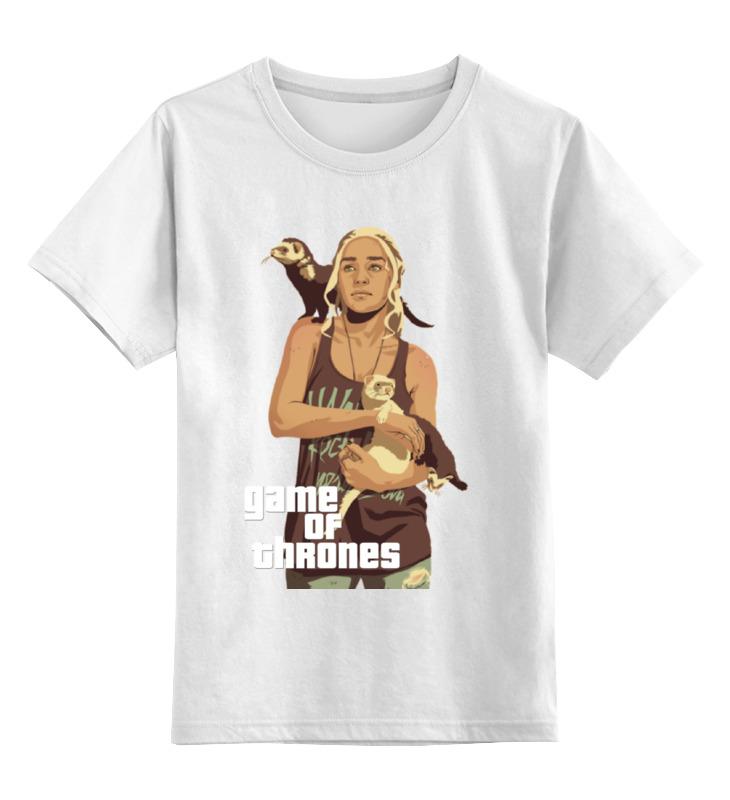 Детская футболка классическая унисекс Printio Gta game of thrones футболка классическая printio gta 5 poster