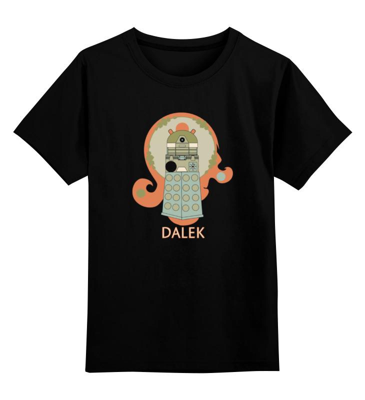 Детская футболка классическая унисекс Printio Далек (доктор кто)