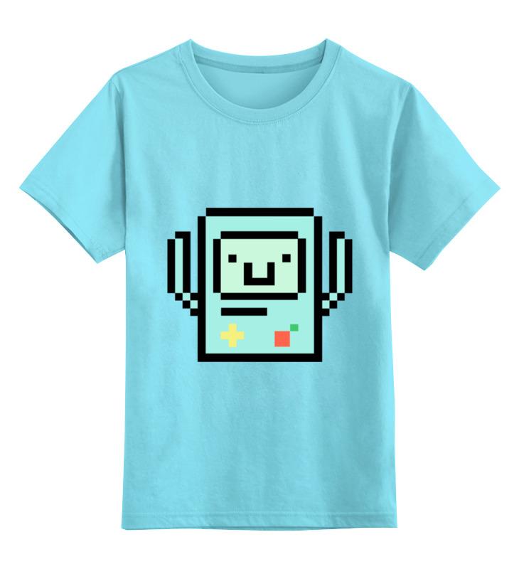 Детская футболка классическая унисекс Printio Bmo - the adventure time