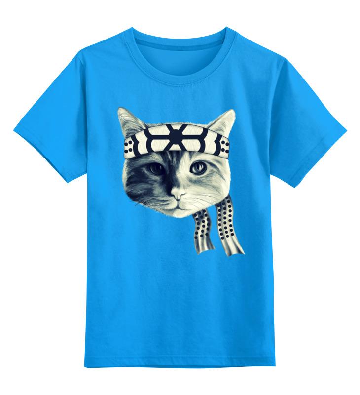 Детская футболка классическая унисекс Printio Мастер каратэ футболка для беременных printio мастер каратэ