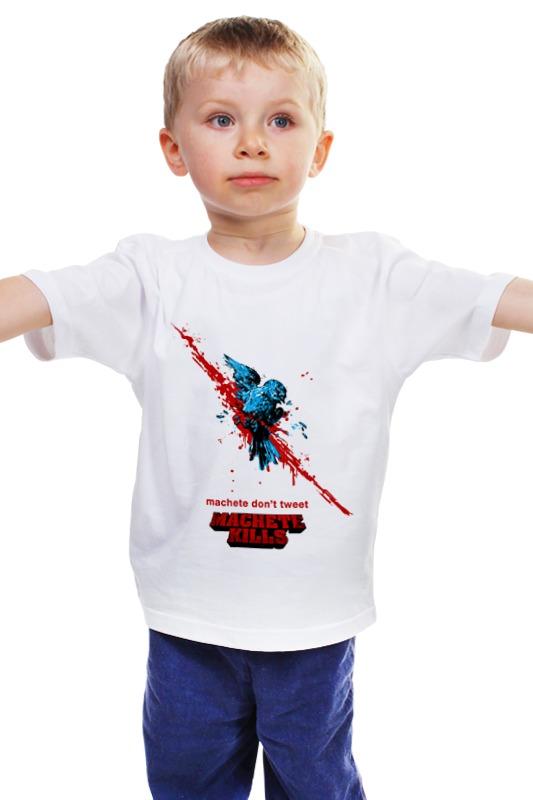 Детская футболка классическая унисекс Printio Мачете убивает детская футболка классическая унисекс printio мачете убивает