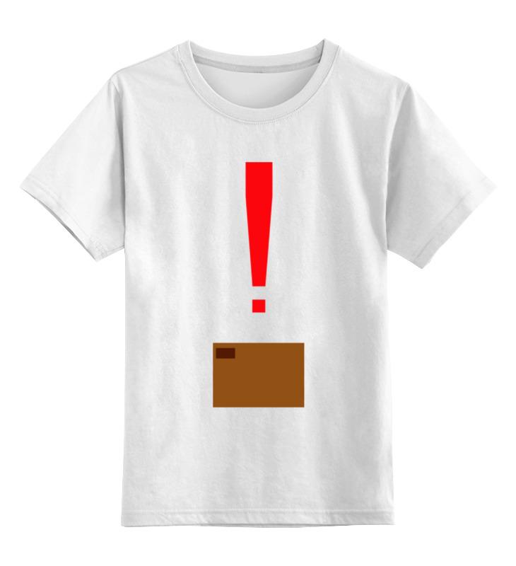 Детская футболка классическая унисекс Printio Коробка (matal gear solid)