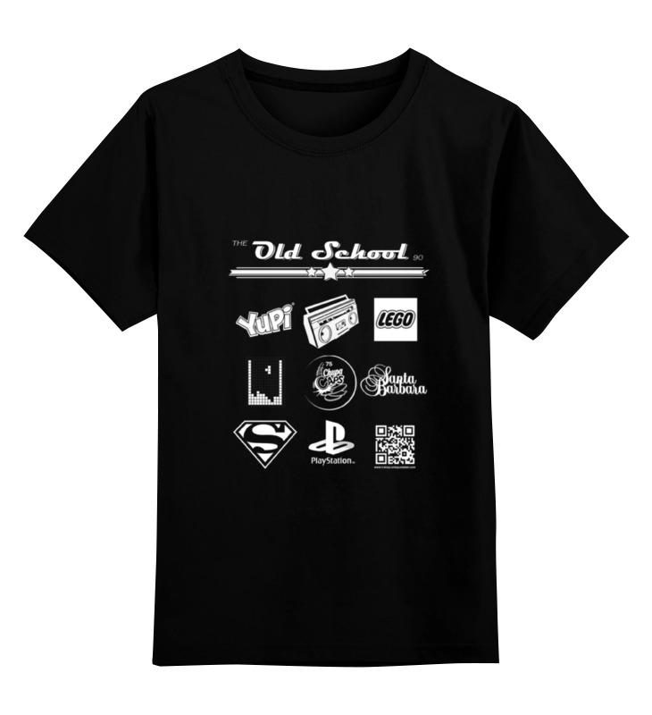 Детская футболка классическая унисекс Printio the old school 90 series iii