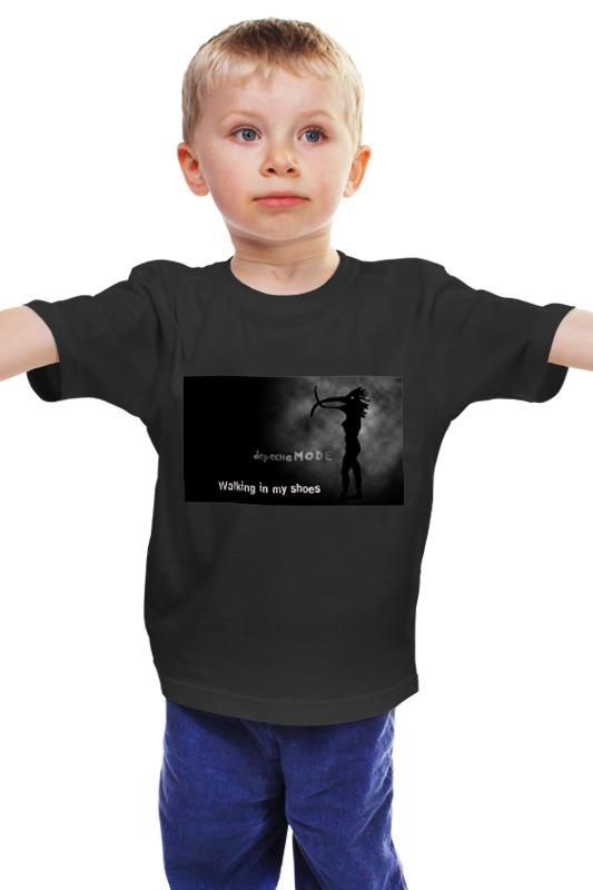 где купить  Детская футболка классическая унисекс Printio Walking in my shoes  по лучшей цене