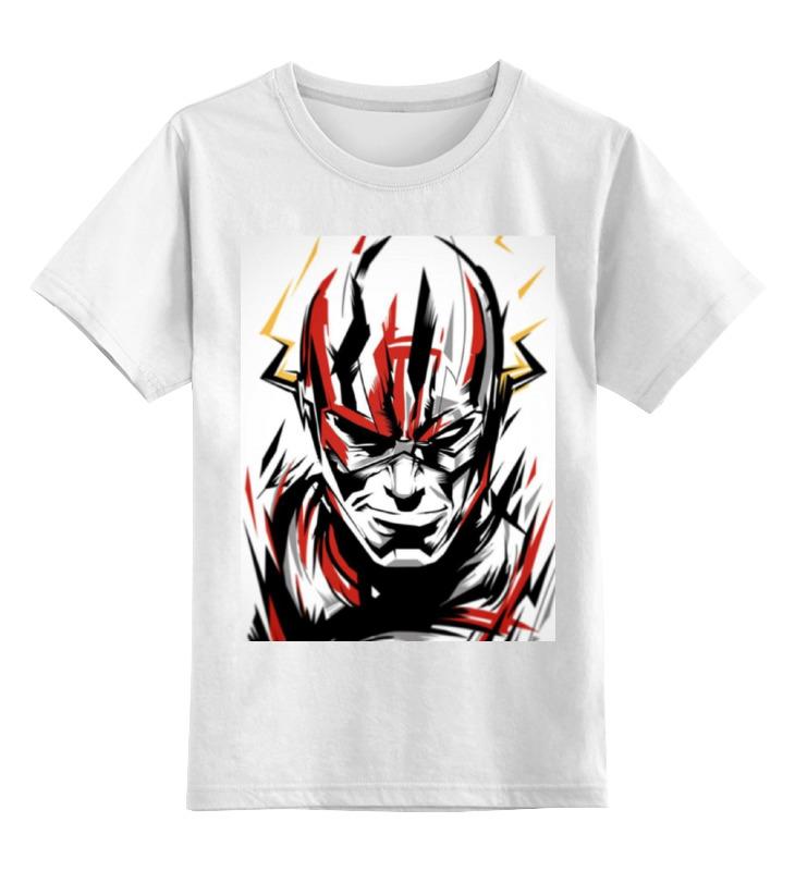 Детская футболка классическая унисекс Printio Флэш (flash) детская футболка классическая унисекс printio flash