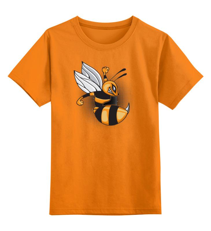 Детская футболка классическая унисекс Printio Злая пчелка ранец детский пчелка оранжевый de 0184 page 3
