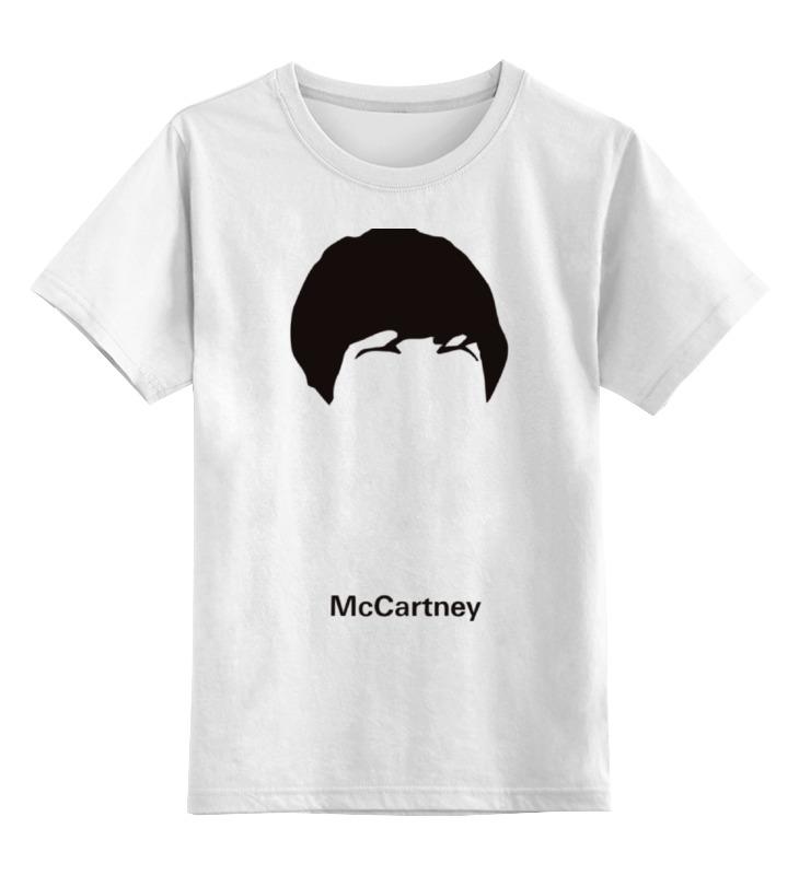 Детская футболка классическая унисекс Printio Пол маккартни пол маккартни québec