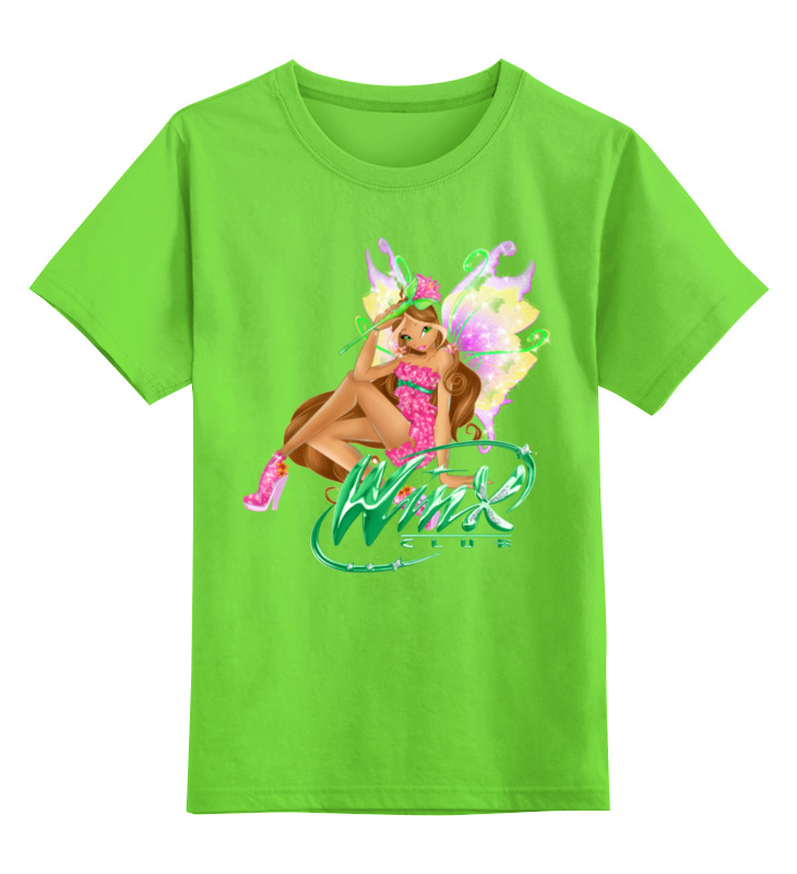 Детская футболка классическая унисекс Printio Winx club умка обучающий планшет winx club 60 программ умка