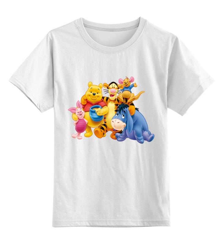 Детская футболка классическая унисекс Printio Винни пух и все, все, все... малыш винни пух и все все все