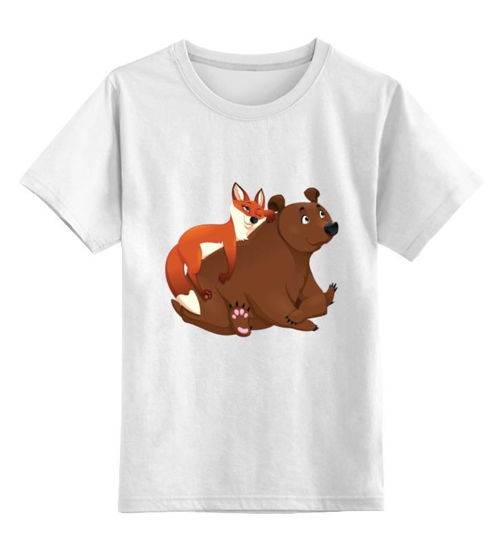 Детская футболка классическая унисекс Printio Забавные животные детская футболка классическая унисекс printio мачете