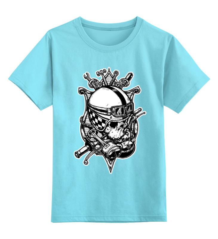 Детская футболка классическая унисекс Printio Old school custom футболка old school