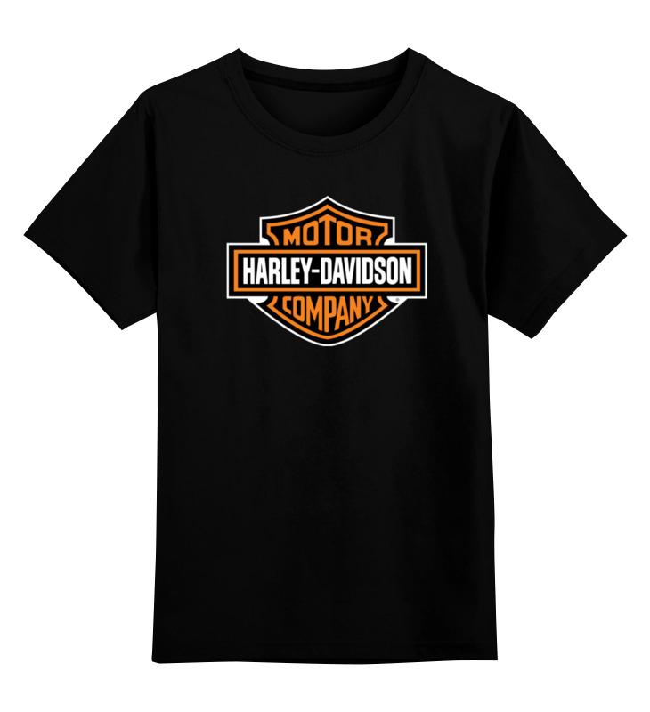 Детская футболка классическая унисекс Printio Harley-davidson / харлей