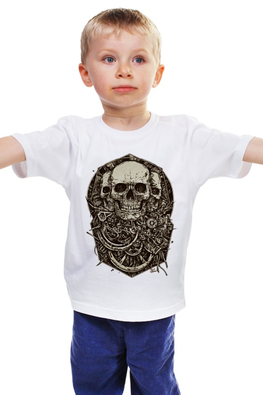 Детская футболка классическая унисекс Printio Skulls детская футболка классическая унисекс printio мачете