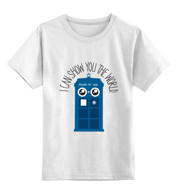 Детская футболка классическая унисекс Printio Я покажу тебе мир футболка я не хлопал тебе