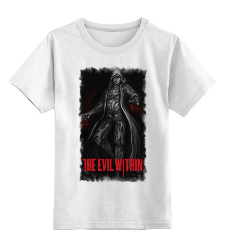 Детская футболка классическая унисекс Printio The evil within weleda зубная паста солевая 75 мл