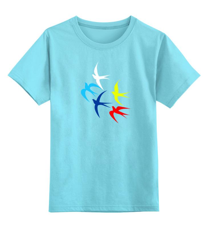 Детская футболка классическая унисекс Printio Россия украина лонгслив printio россия украина