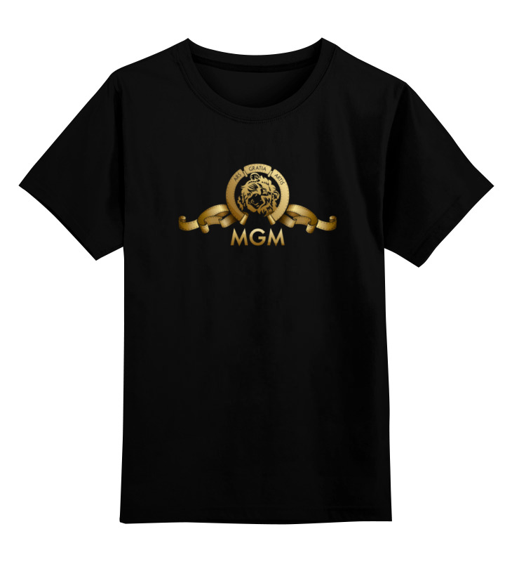 Детская футболка классическая унисекс Printio Metro-goldwyn-mayer / mgm футболка классическая printio metro goldwyn mayer mgm