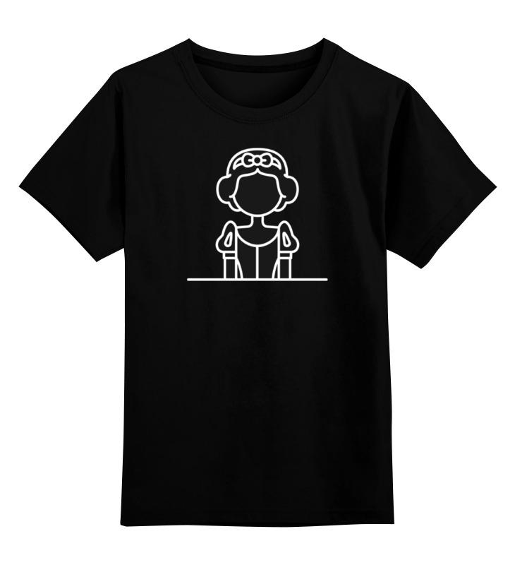 Детская футболка классическая унисекс Printio Белоснежка белоснежка фоторамка комбинированная