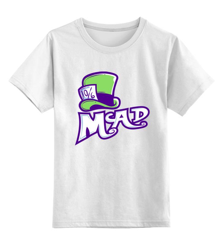 Детская футболка классическая унисекс Printio Безумный шляпник (mad hatter) цена