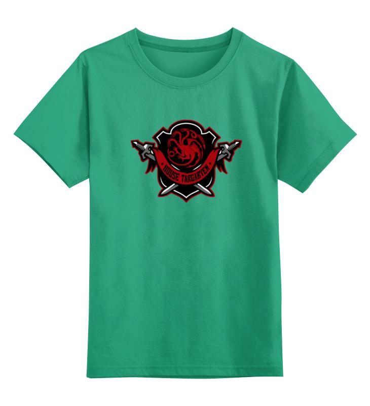 Детская футболка классическая унисекс Printio House targaryen детская футболка классическая унисекс printio house targaryen