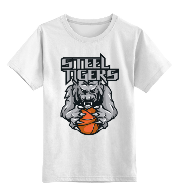 Детская футболка классическая унисекс Printio Тигры детская футболка классическая унисекс printio морда тигра