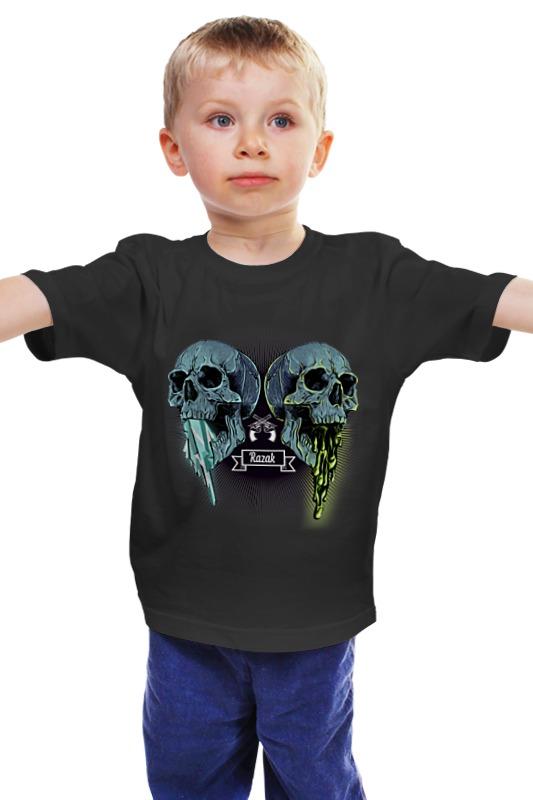 Детская футболка классическая унисекс Printio Черепа детская футболка классическая унисекс printio мачете