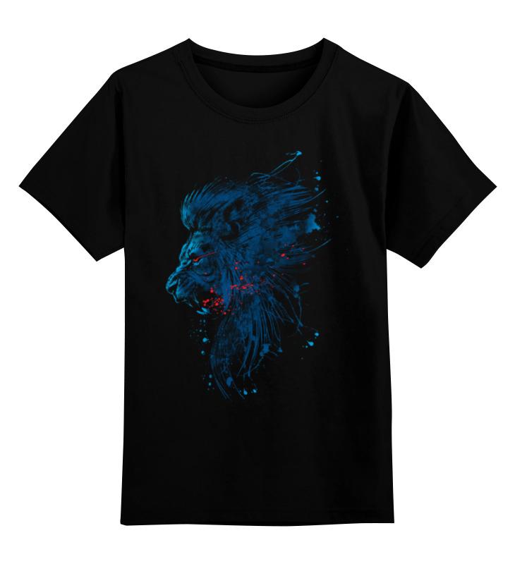 Детская футболка классическая унисекс Printio Абстрактный лев детская футболка классическая унисекс printio абстрактный кот