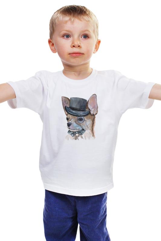 Детская футболка классическая унисекс Printio Чихуа собака купить чихуа на авито в орехово зуево