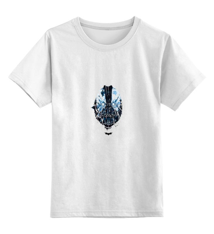 Детская футболка классическая унисекс Printio Бэйн dc цена