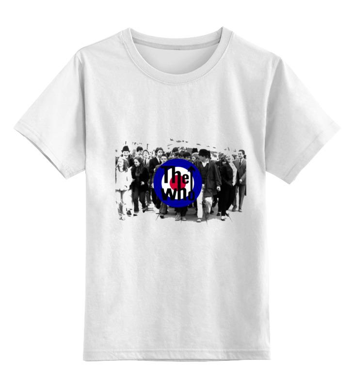 Детская футболка классическая унисекс Printio The who футболка классическая printio the black keys