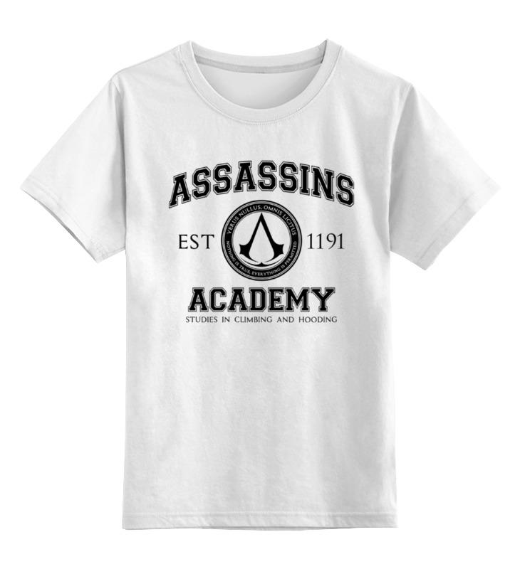 Детская футболка классическая унисекс Printio Assassins academy. assassin's creed детская футболка классическая унисекс printio assassins creed logo