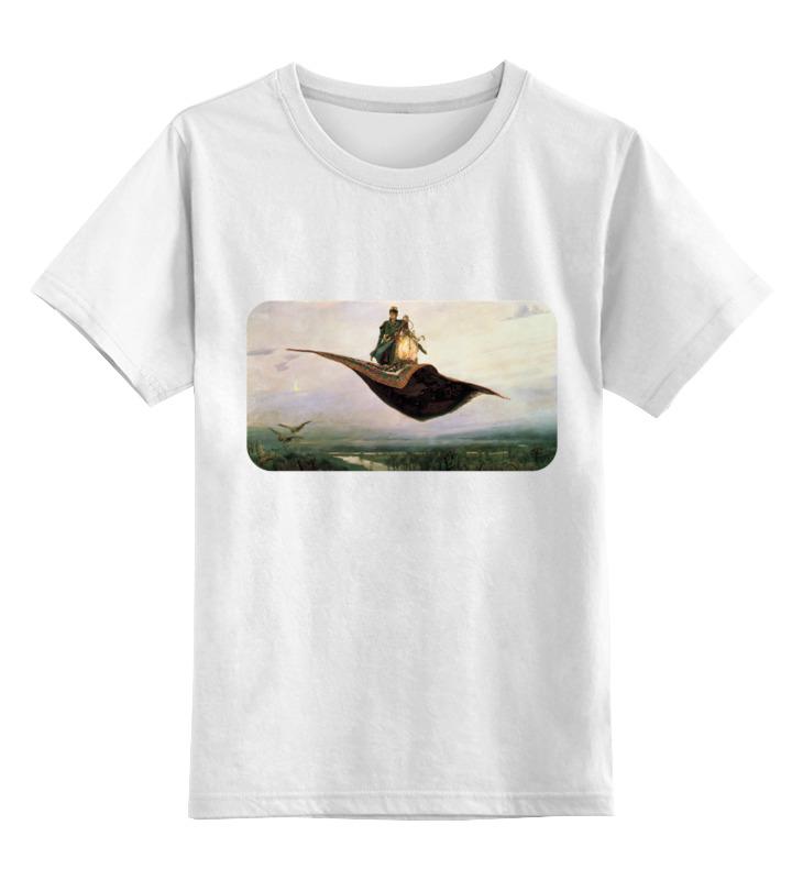 Детская футболка классическая унисекс Printio Ковёр-самолёт (виктор васнецов) ковёр шахреза 2х4 м полипропилен
