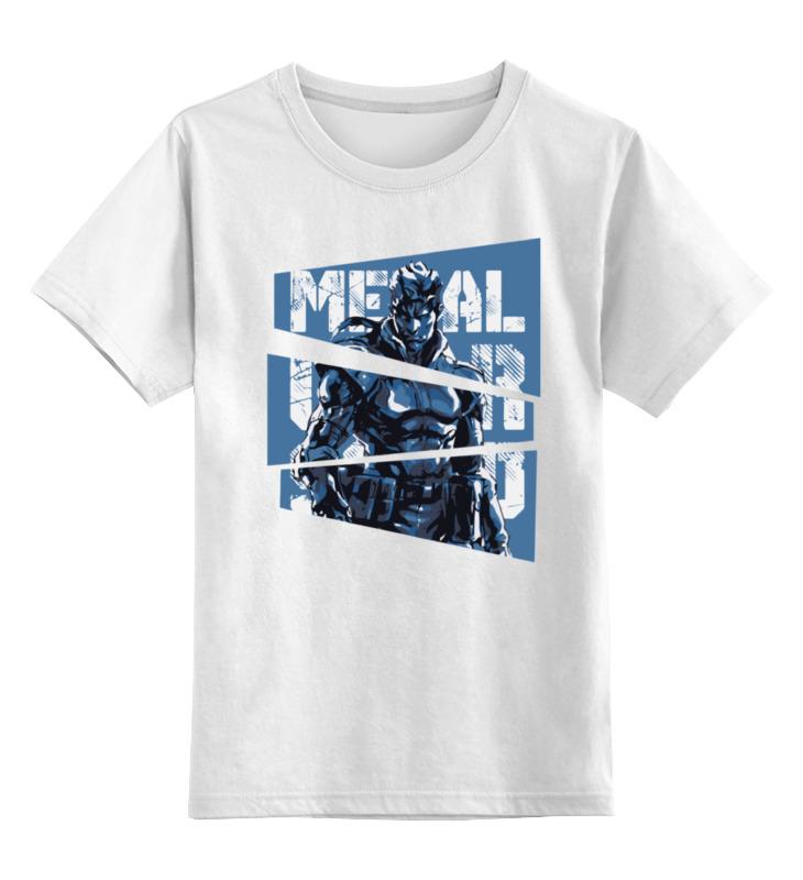 все цены на Детская футболка классическая унисекс Printio Solid snake (metal gear solid)