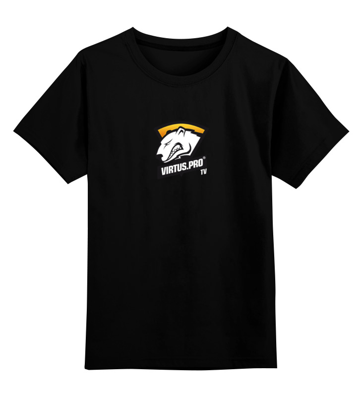 Детская футболка классическая унисекс Printio Virtus pro цена