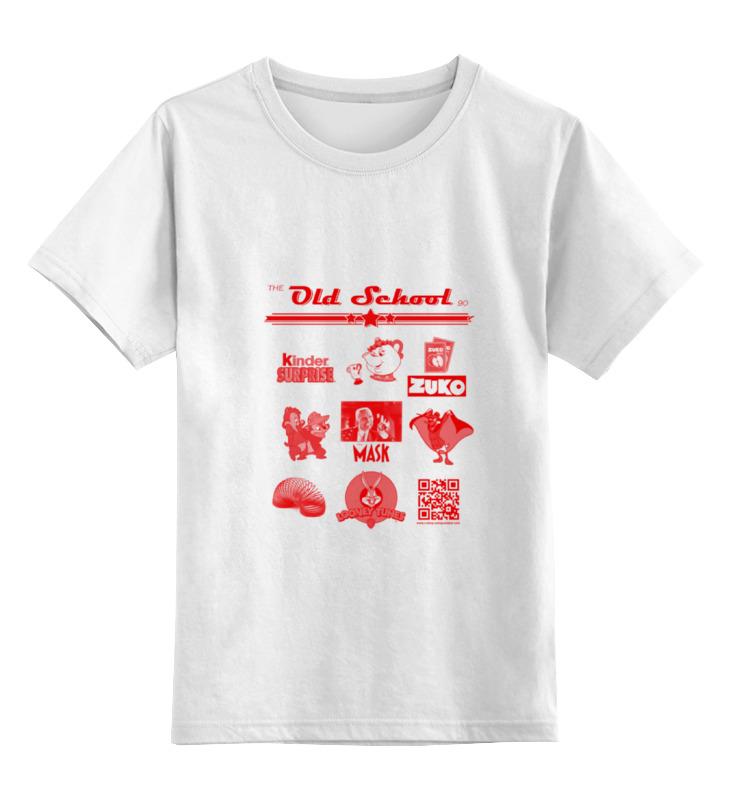 Детская футболка классическая унисекс Printio the old school 90 series iv