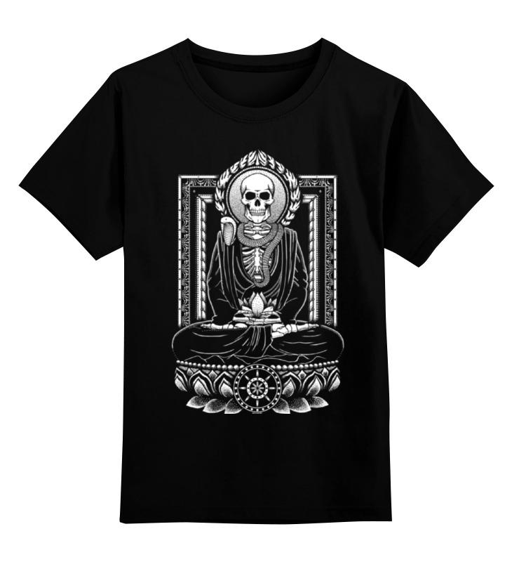 Printio Скелет футболка print bar цветущий скелет