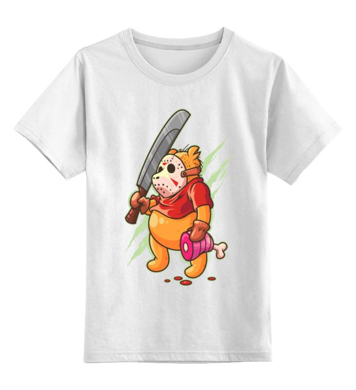 Детская футболка классическая унисекс Printio Винни пух (джейсон) лодка надувная детская intex винни пух 58394