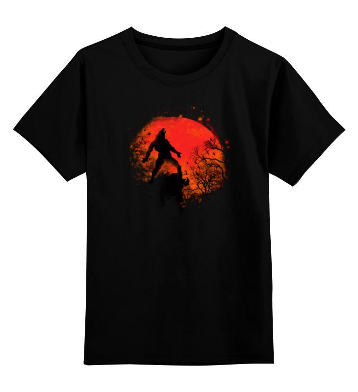 Детская футболка классическая унисекс Printio В ночь на хэллоуин