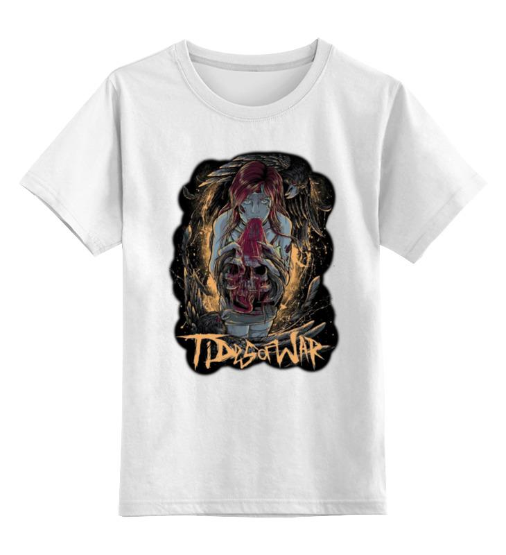 лучшая цена Детская футболка классическая унисекс Printio Tides of war