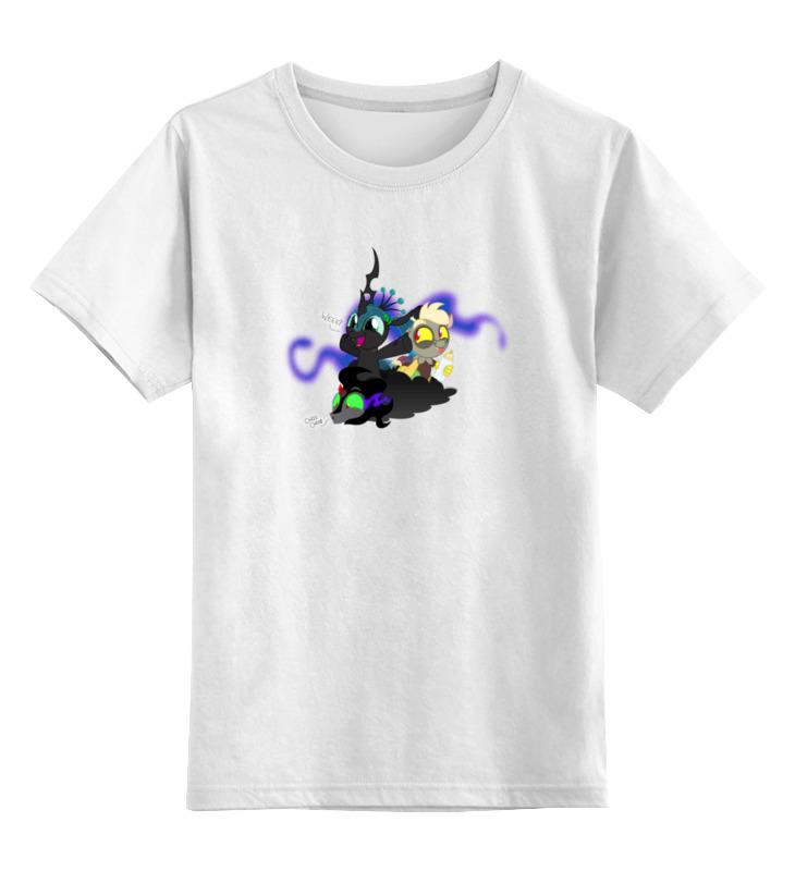 Детская футболка классическая унисекс Printio Evil so cute