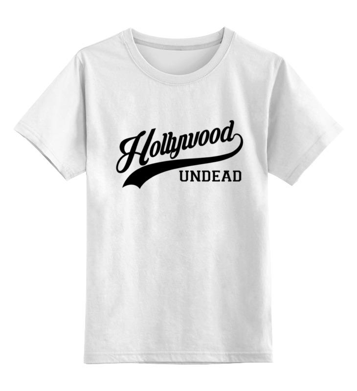 Детская футболка классическая унисекс Printio Hollywood undead спорт футболка print bar hollywood undead dotd logo5