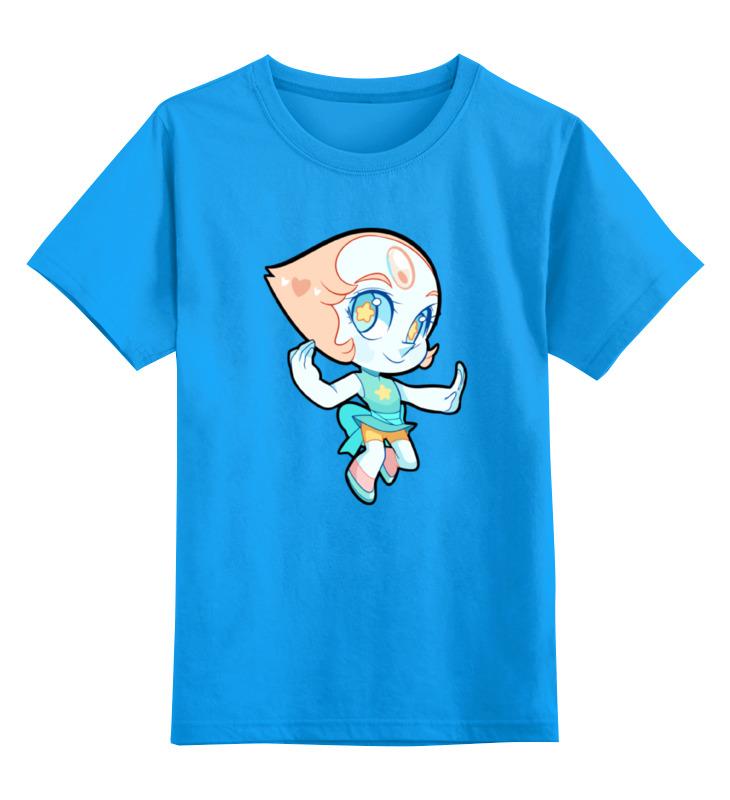 Детская футболка классическая унисекс Printio Жемчуг (вселенная стивена) лонгслив printio жемчуг вселенная стивена
