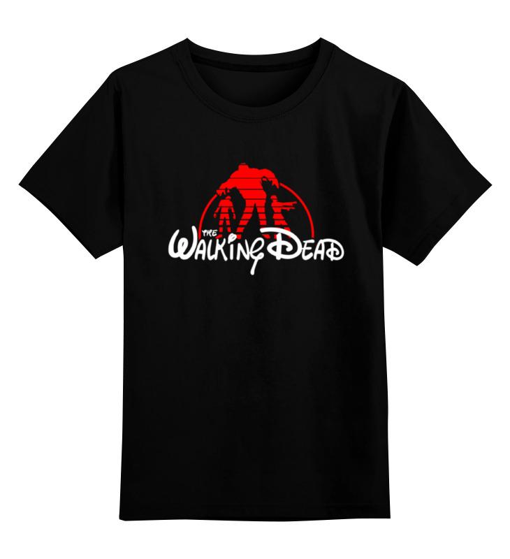 Детская футболка классическая унисекс Printio Ходячие мертвецы; the walking dead футболка стрэйч printio ходячие мертвецы the walking dead
