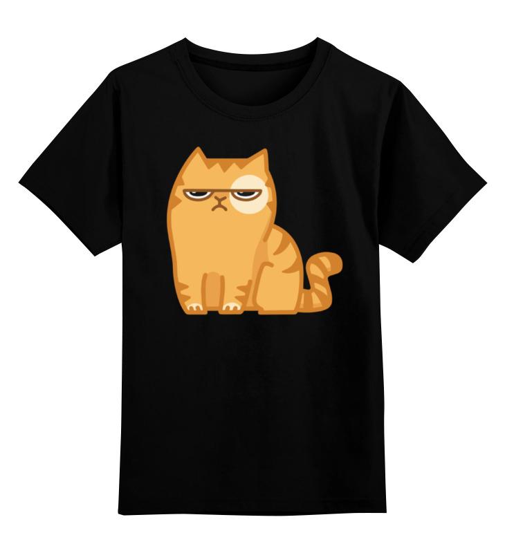 Детская футболка классическая унисекс Printio Кот персик / cat persik детская футболка классическая унисекс printio ниган кот