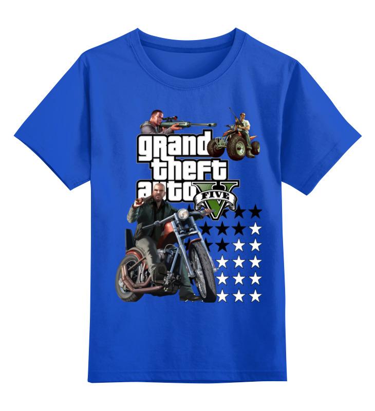 Детская футболка классическая унисекс Printio Gta live сумка printio gta 5 dog