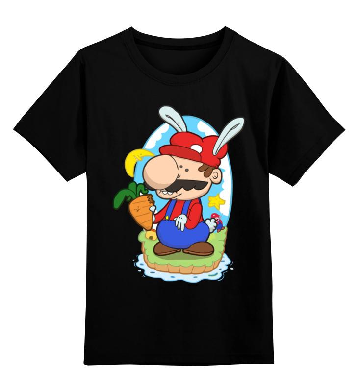 Детская футболка классическая унисекс Printio Марио wellsh the time machine